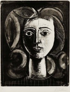 Picasso painted a great many portraits, and many of them depict the women in his life. For Picasso a portrait is not an exact reproduction of a person, but a reflection of the emotions and the face, the outward appearance and personality.